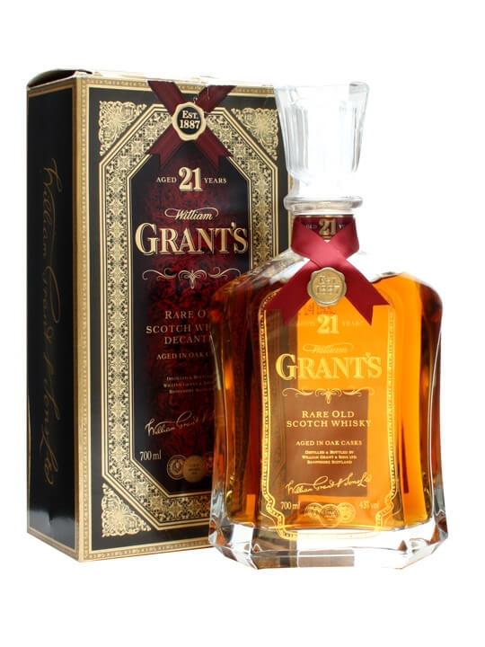 Grant's 21 Year Old Blend / Bot. 1990s Blended Scotch Whisky