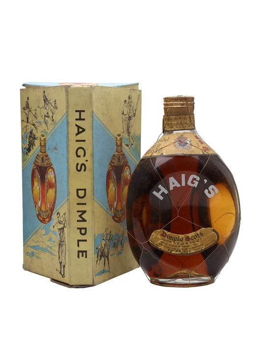 Buy Dimple Pinch Red Ceramic Decanter 15 Year Old Online: Haig's Dimple / Bot.1950s / Spring Cap : The Whisky Exchange