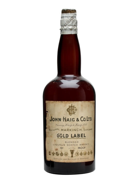 Haig Gold Label / Bot.1930s Blended Scotch Whisky