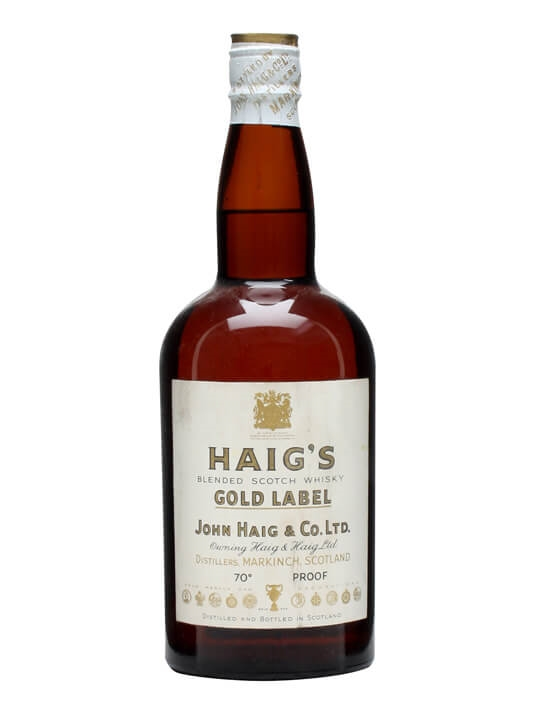 Haig Gold Label / Bot.1950s / Late King George Vi Blended Whisky
