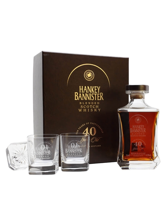 Hankey Bannister 40 Year Old / 2007 Release Blended Scotch Whisky