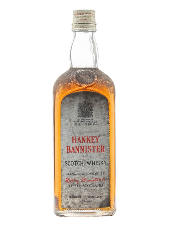 Hankey Bannister / Bot.1950s Blended Scotch Whisky