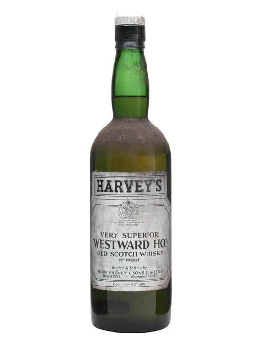 Harveys Westward Ho! Blend / Bot.1960s / Resealed Blended Whisky