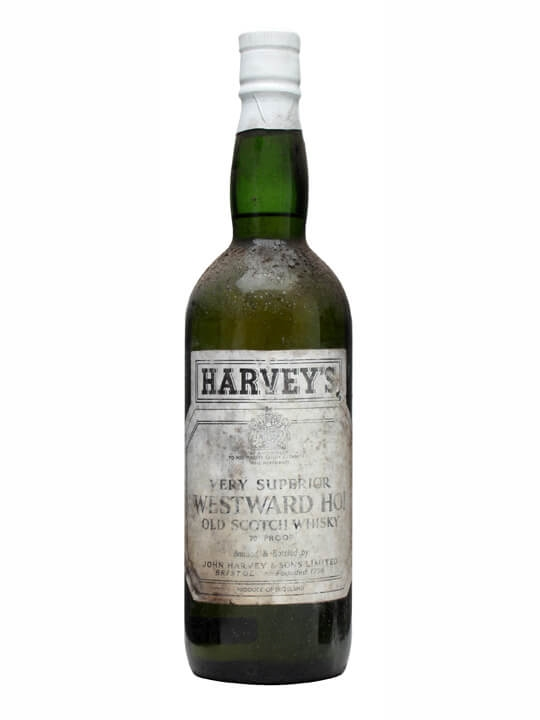 Harvey's Westward Ho! Blend / Bot.1960s Blended Scotch Whisky