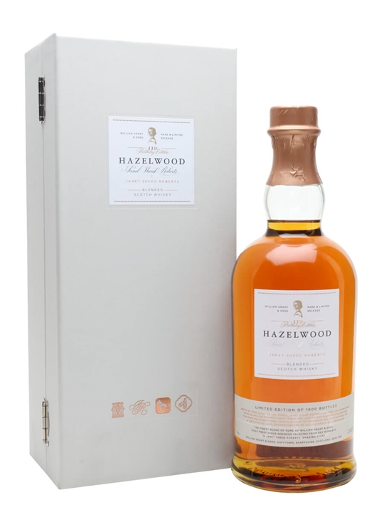 Hazelwood Janet Sheed Roberts / 110th Birthday Edition Blended Whisky