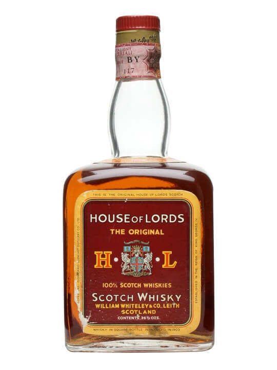 House Of Lords Blended Scotch / Bot.1970s Blended Scotch Whisky