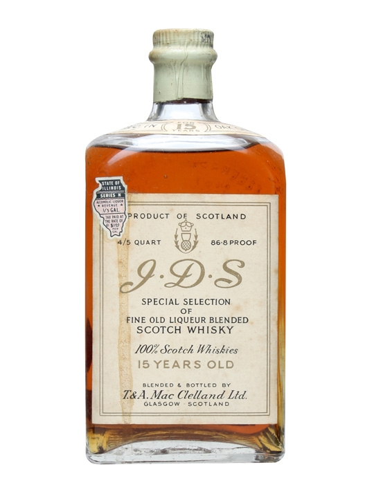 I.d.s 15 Year Old / Bot.1940s Blended Scotch Whisky