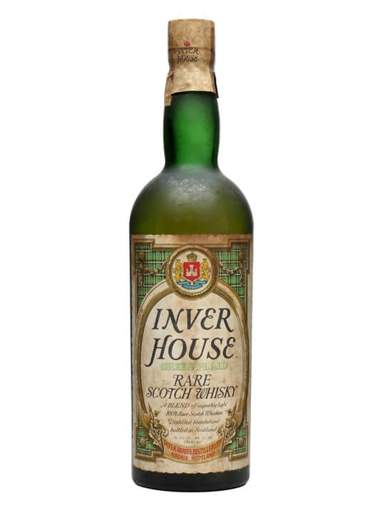 Inver House / Green Plaid / Bot.1968 Blended Scotch Whisky
