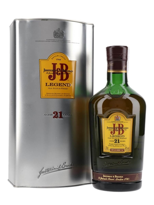 J & B 21 Year Old Legend Blended Scotch Whisky