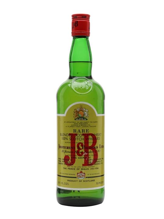 J&b / Bot.1970s Blended Scotch Whisky
