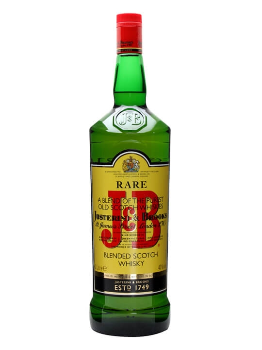 J & B Rare / Large Bottle Blended Scotch Whisky