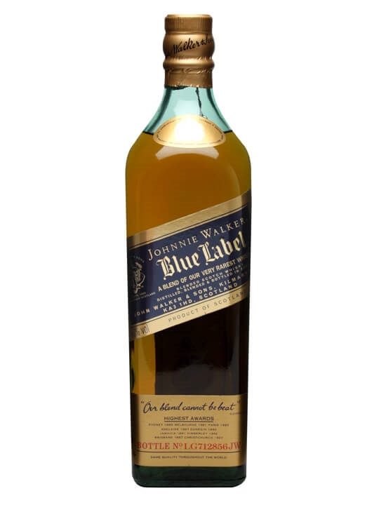 Johnnie Walker Blue Label / Old Presentation Blended Scotch Whisky