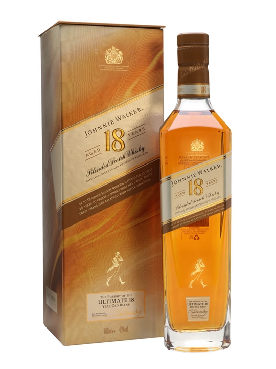 Johnnie Walker Platinum Label 18 Year Old Blended Scotch Whisky