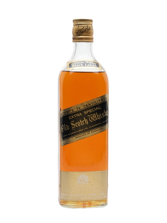 Johnnie Walker Black Label  Bot.1980s Blended Scotch Whisky