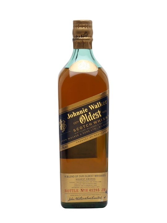 Johnnie Walker Oldest (unboxed) Blended Scotch Whisky