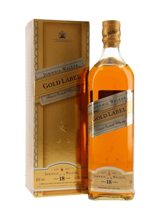 Johnnie Walker 18 Year Old Gold Label / Bot.1990s Blended Whisky