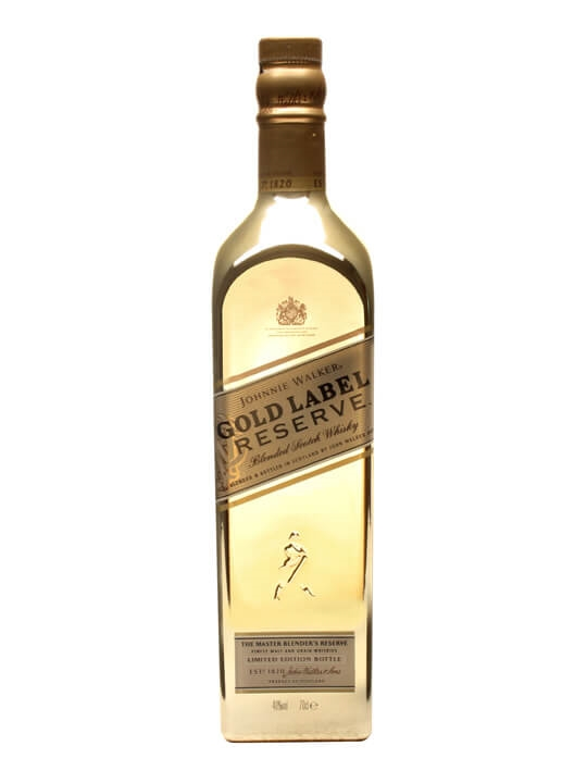 Johnnie Walker Gold Label Reserve / Bullion Bottle Blended Whisky