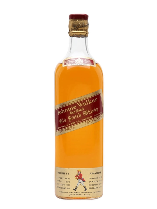 Johnnie Walker Red Label / Bot.1960s Blended Scotch Whisky