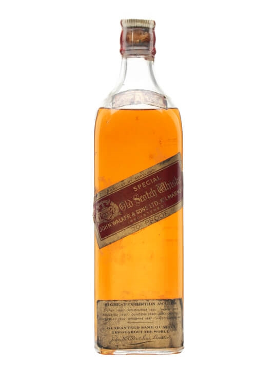 Johnnie Walker Red Label / Bot.1940s Blended Scotch Whisky