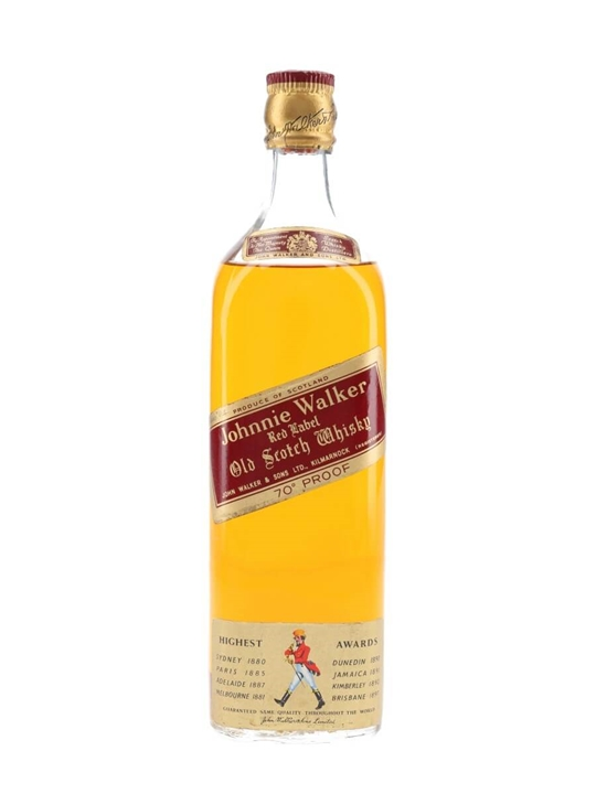 Johnnie Walker Red Label  Bot.1960s Blended Scotch Whisky
