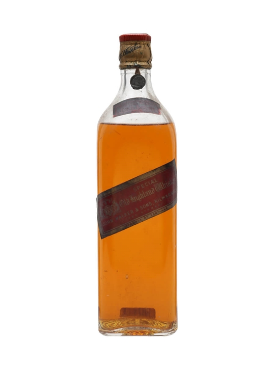 Johnnie Walker Red Label  Bot.1940s Blended Scotch Whisky