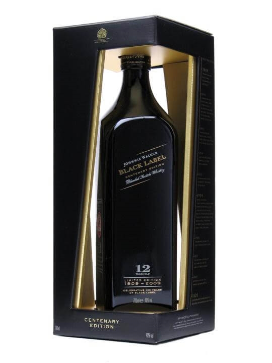Johnnie Walker Black Label Centenary Edition 12 Year Old Blended Whisky