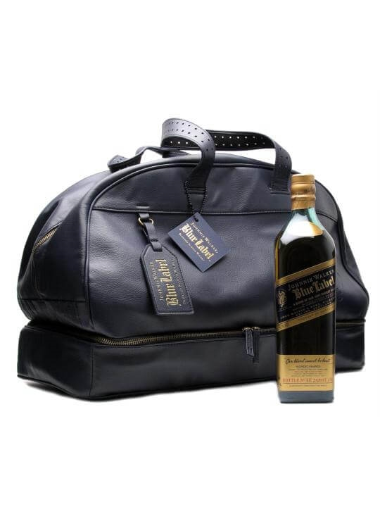 Johnnie Walker / Bill Amberg Blue Label Overnighter Blended Whisky