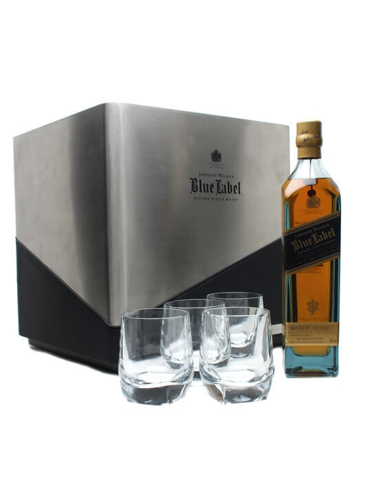 Johnnie Walker Blue Label / Porsche Cube Blended Scotch Whisky