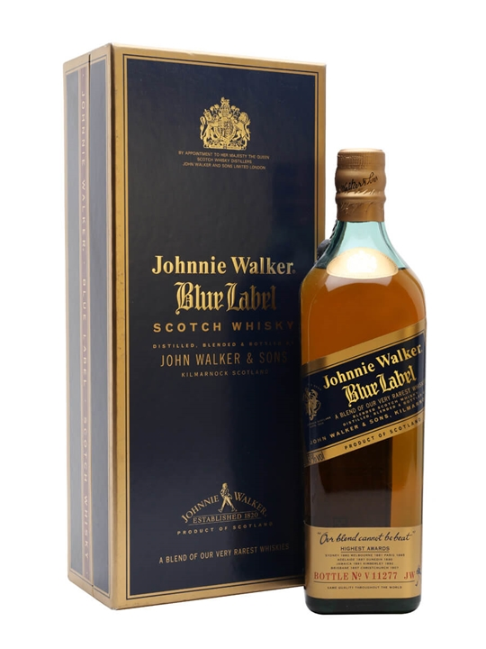 Johnnie Walker Blue Label / Bot.1990s Blended Scotch Whisky