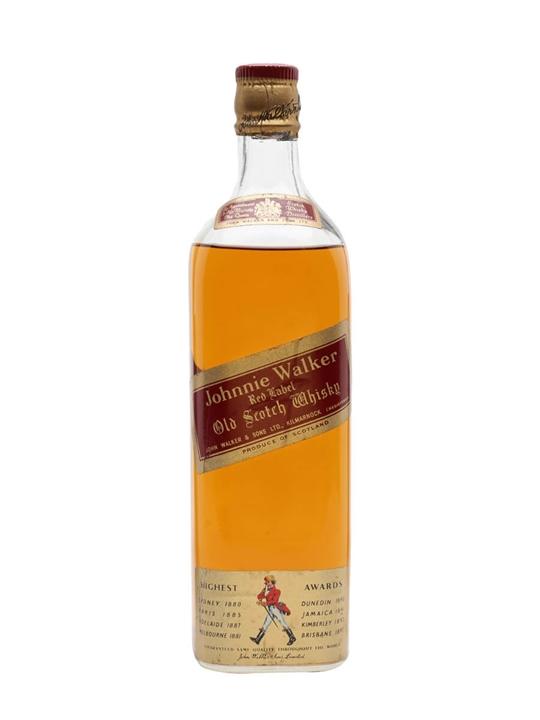 Johnnie Walker Red Label / Bot.1970s Blended Scotch Whisky