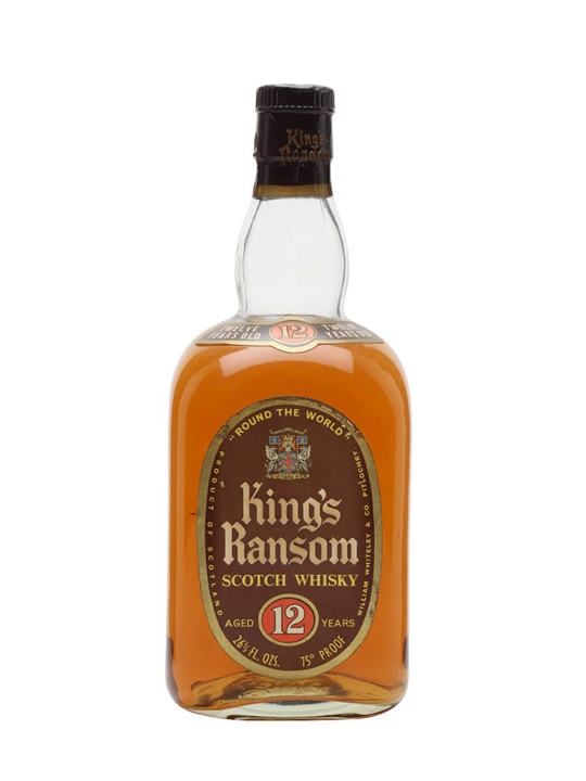 King's Ransom / Round The World / Bot.1960s Blended Scotch Whisky