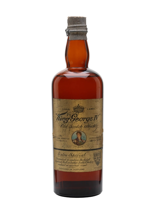 King George Iv / Bot.1940s Blended Scotch Whisky