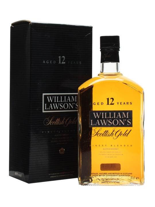 William Lawson's Scottish Gold / 12 Year Old Blended Scotch Whisky
