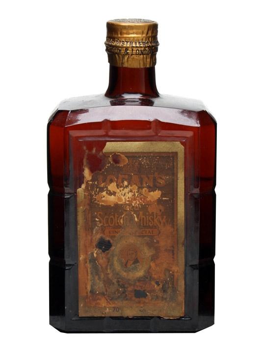 Logan's King's Special / Damaged Label / Bot.1950s Blended Whisky