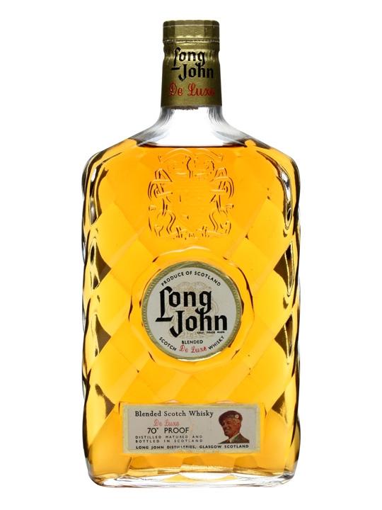 Long John De Luxe Blended Whisky / Bot.1960s Blended Scotch Whisky