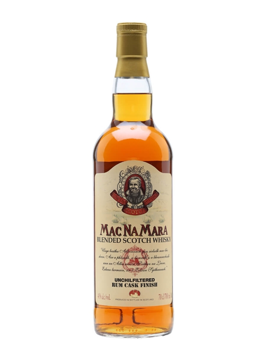 Macnamara Rum Cask Finish Blended Scotch Whisky Blended Scotch Whisky
