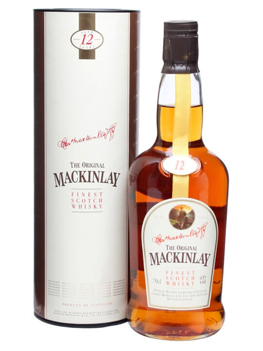 Mackinlay 12 Year Old Blended Scotch Whisky