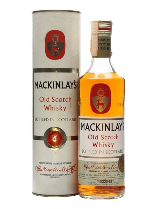 Mackinlay's 5 Year Old / Bot.1970s Blended Scotch Whisky