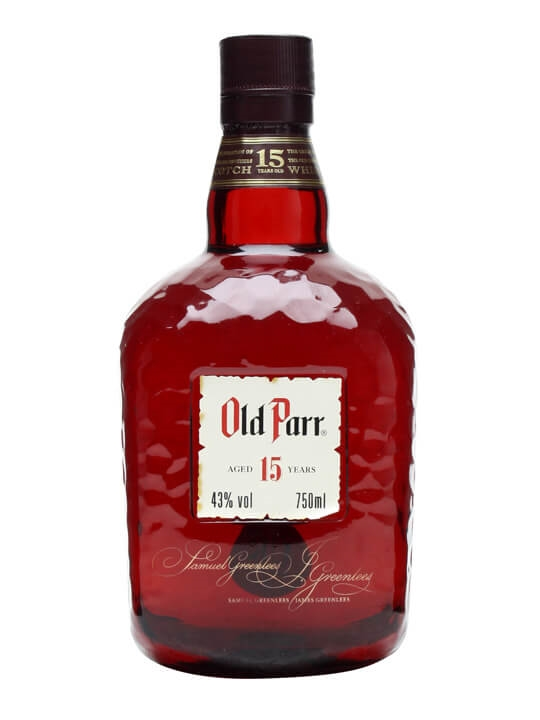 Old Parr 15 Year Old Limited Edition Scotch Whisky Blended Whisky