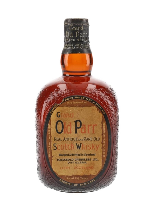 Grand Old Parr De Luxe / Spring Cap / Bot.1960s Blended Scotch Whisky