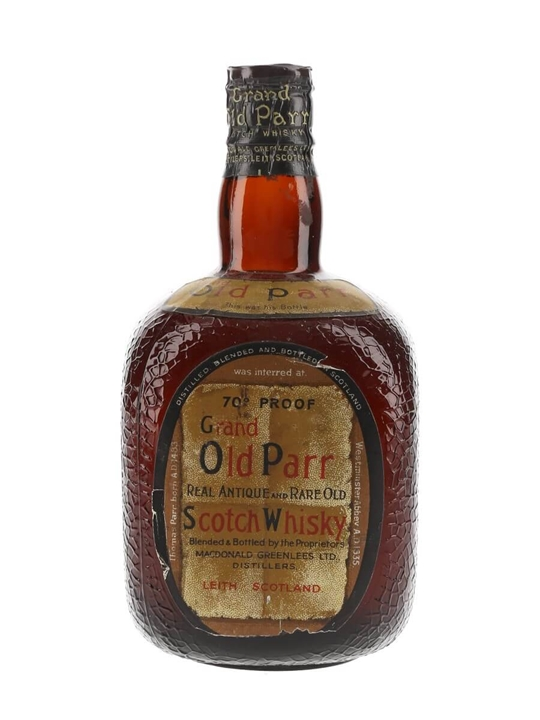 Grand Old Parr / Bot.1950s / Spring Cap Blended Scotch Whisky