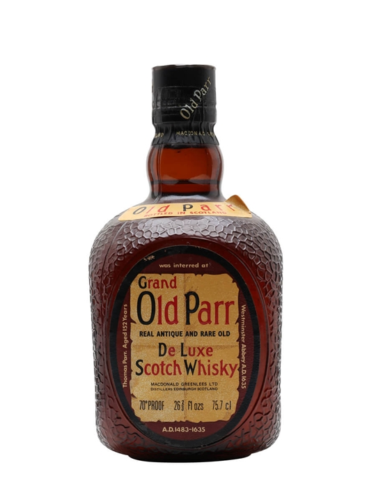 Grand Old Parr / Bot.1970s Blended Scotch Whisky