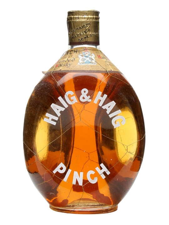 Haig & Haig Pinch / Bot.1950s / Spring Cap Blended Scotch Whisky