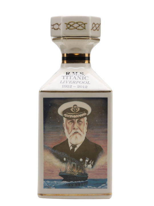 R.m.s Titanic 100th Anniversary Decanter / Pointers Blended Whisky
