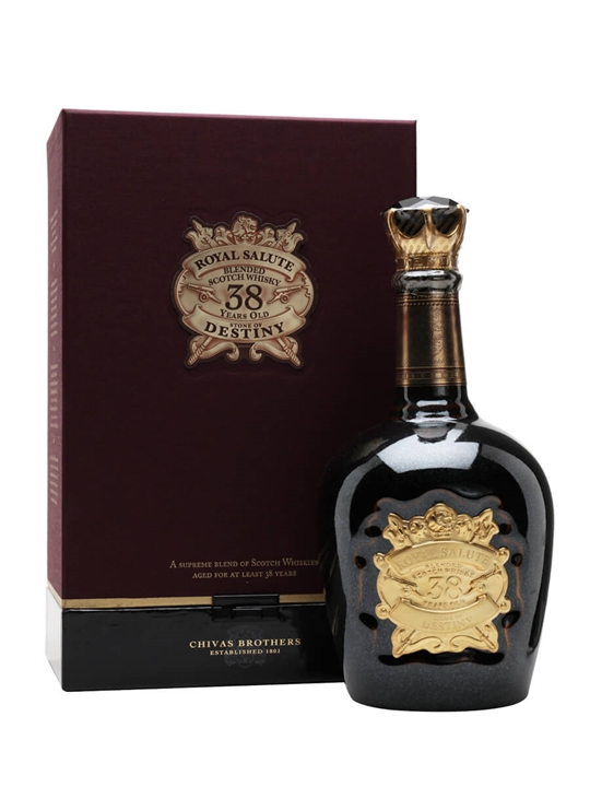 Royal Salute 38 Year Old / Stone Of Destiny Blended Scotch Whisky