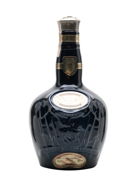 Royal Salute 21 Year Old / Blue Wade / Old Presentation Blended Whisky