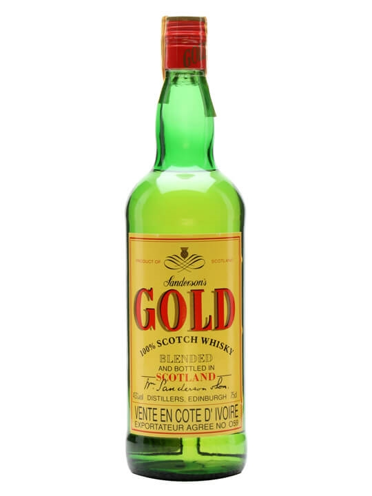 Sanderson's Gold Blended Whisky Blended Scotch Whisky