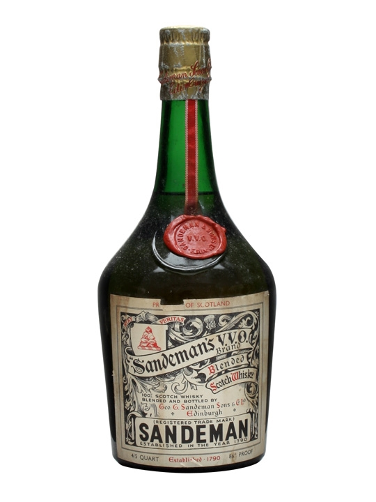 Sandeman's Vvo Brand / Bot.1960s Blended Scotch Whisky