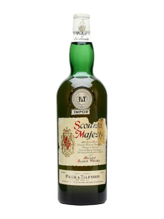 Scottish Majesty / Us Quart / Bot.1950s Blended Scotch Whisky