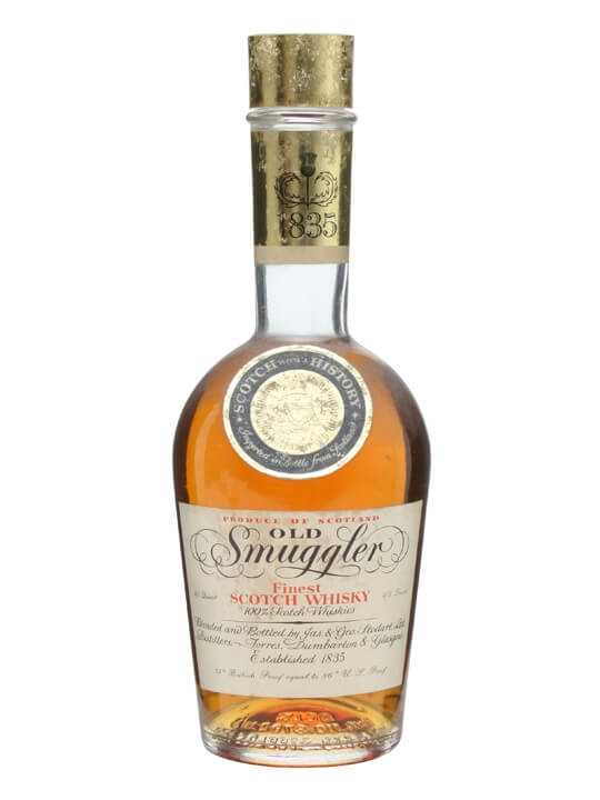 Old Smuggler / Bot.1970s Blended Scotch Whisky